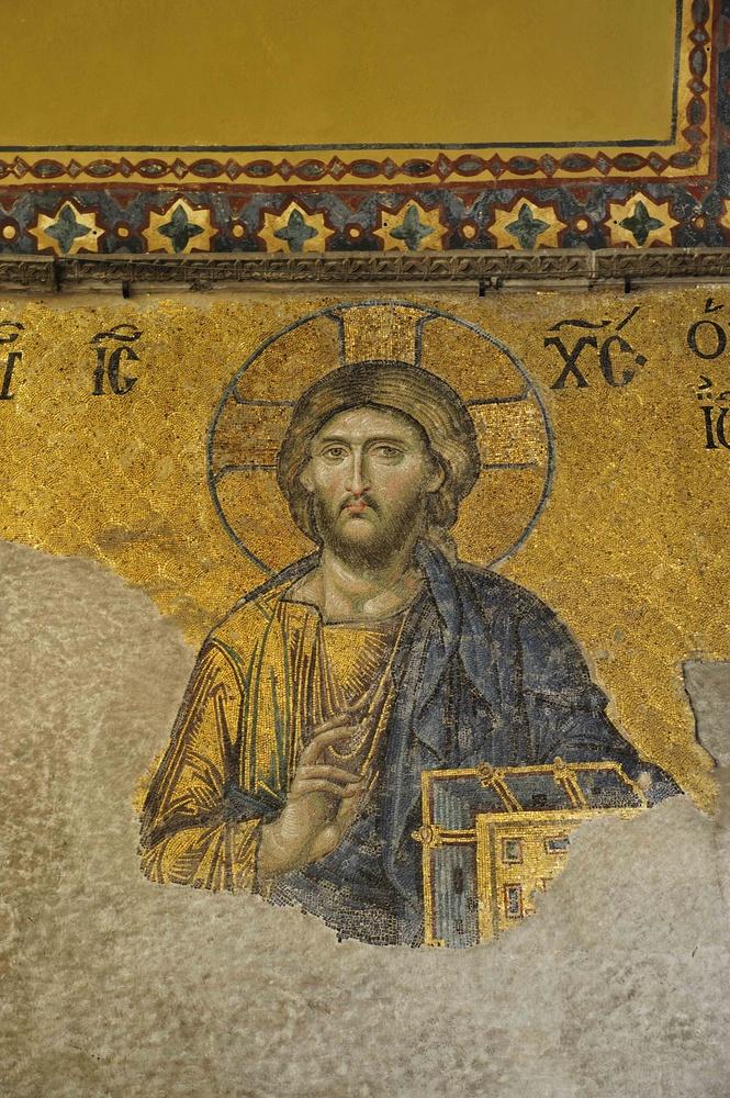 Weltberühmte Mosaiken in der Hagia Sophia