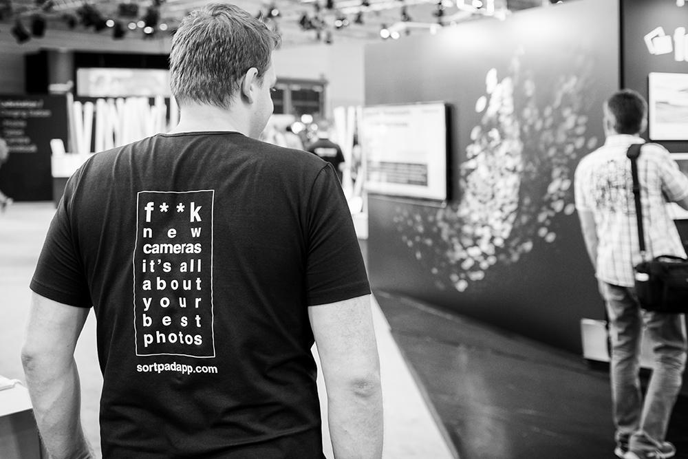 Weltbester Werbespruch für weltgrößte Fotomesse....