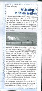 """""""Weltbürger in ihren Welten"""" noch bis 30. Juni 2013 zu sehen!"""