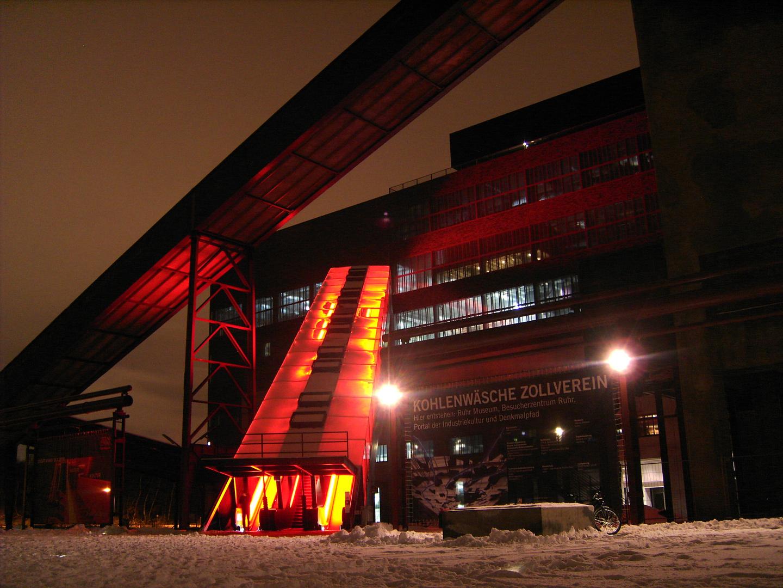 Welterbe Zollverein im Winter