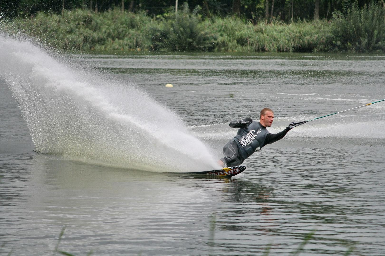 Weltklasse Slalom beim - Alfsee-Jump 2010 -