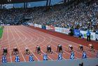 Weltklasse Zürich 2013 - 100 m Frauen - auf die Plaetze .....