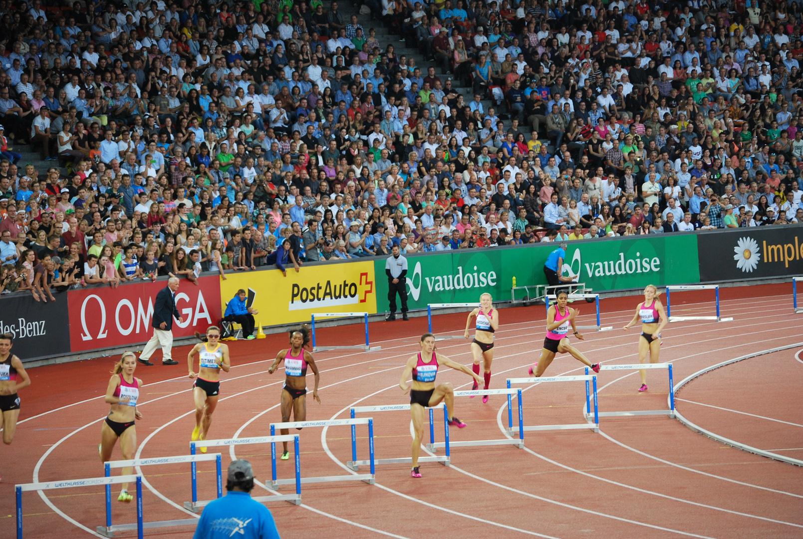 Weltklasse Zürich 2013 - Was im Weg ist wird übersprungen
