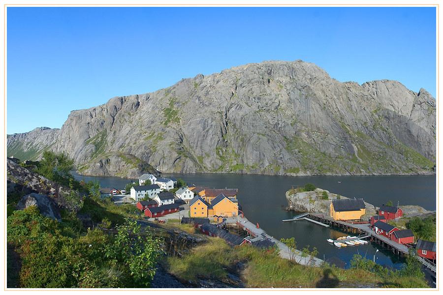 Weltkulturerbe - Nusfjord