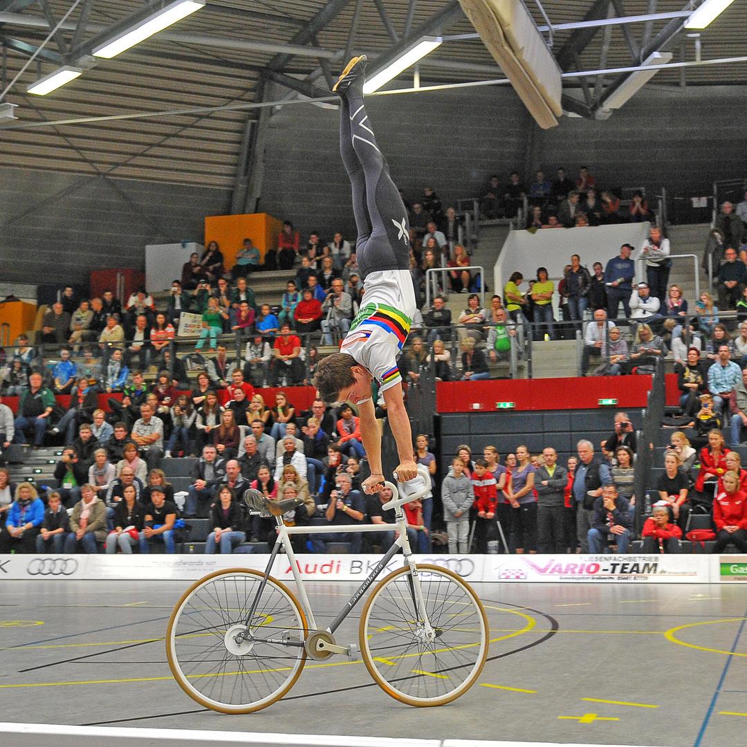 Weltmeister im 1er Kunstradfahren, David Schnabel