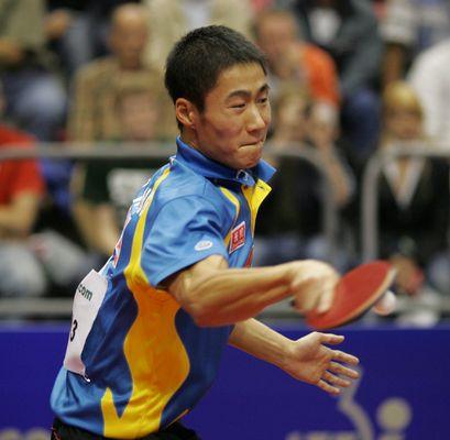 Weltmeister Wang Liqin
