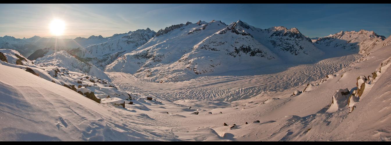 Weltnaturerbe Aletschgletscher