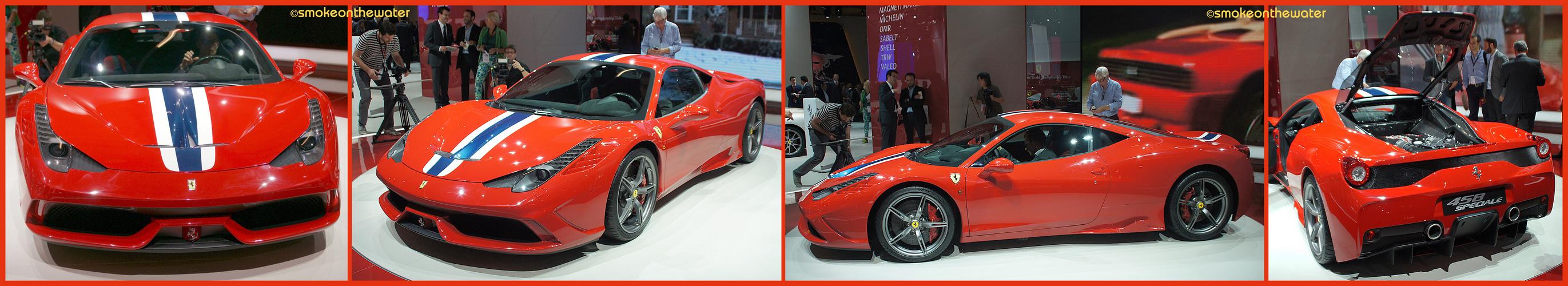 Weltpremiere: Ferrari 458 Speciale