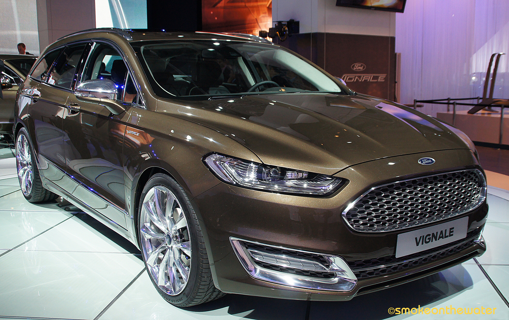 Weltpremiere: Ford Mondeo Vignale