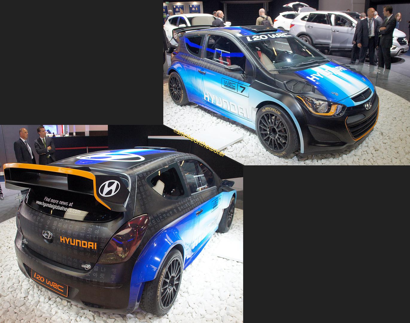 Weltpremiere: Hyundai i20 WRC 2014