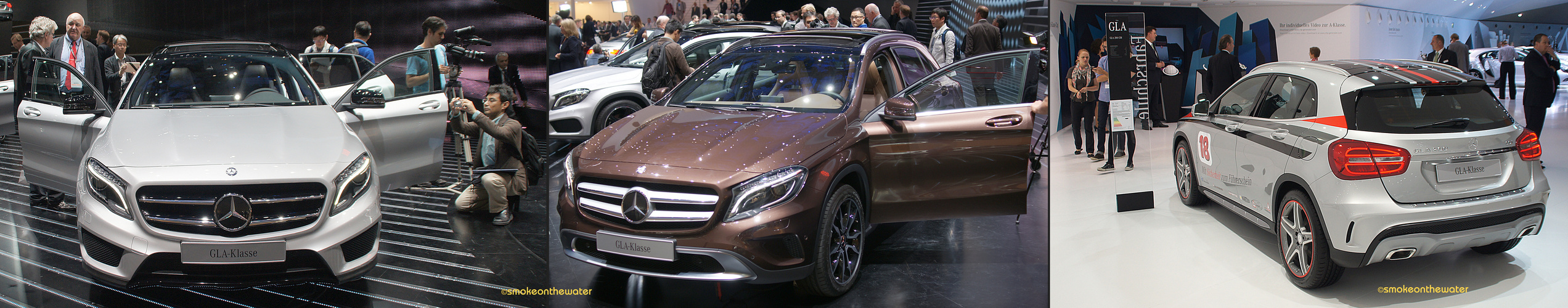 Weltpremiere: Mercedes GLA-Klasse