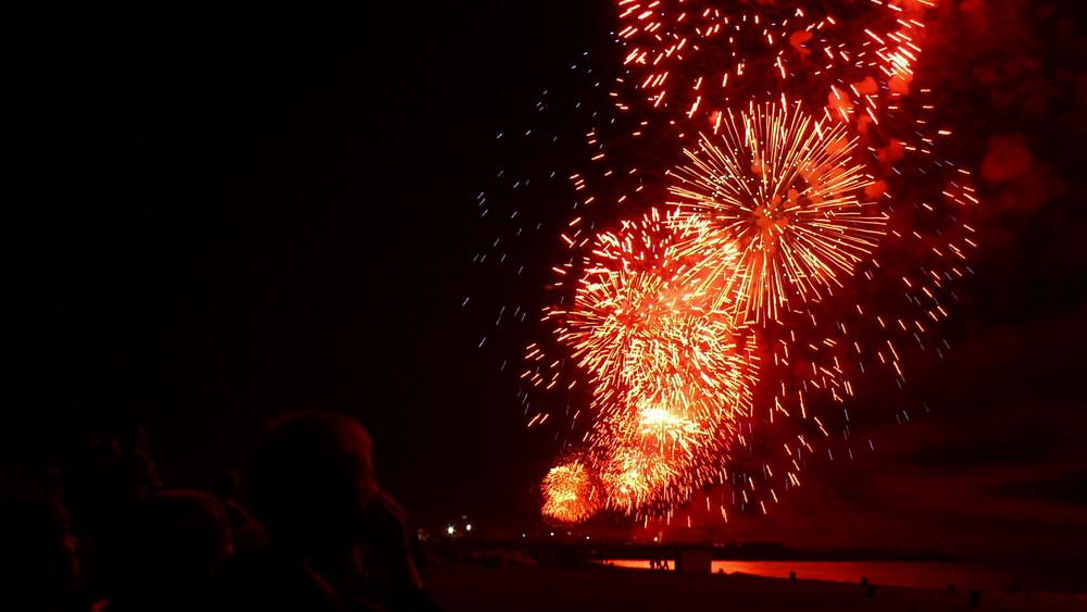 Weltrekord längstes Feuerwerk