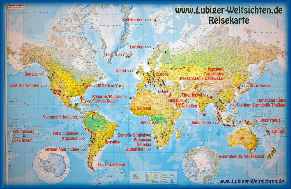 Weltsichten Karte 2017