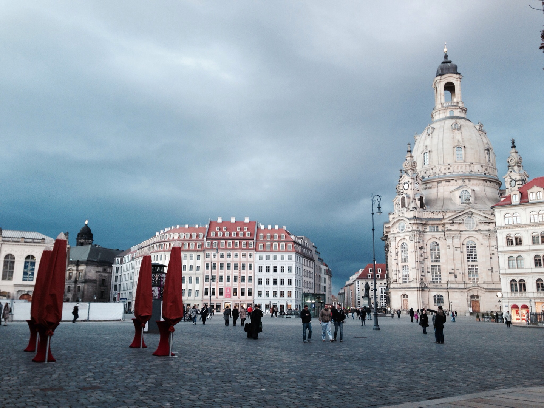Weltuntergang in Dresden