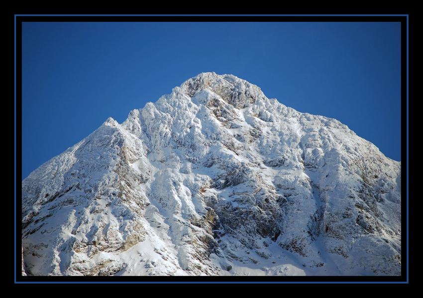 **** Wen die Berge das Winterkleid anziehen****