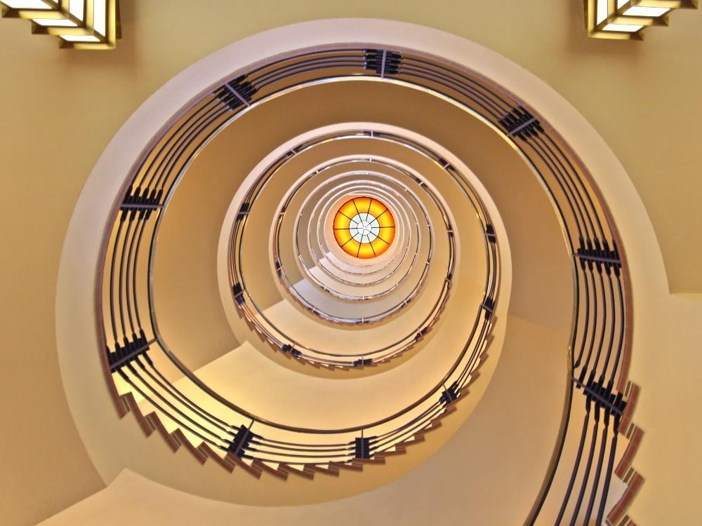 Wendel-Treppe Brahms-Kontor