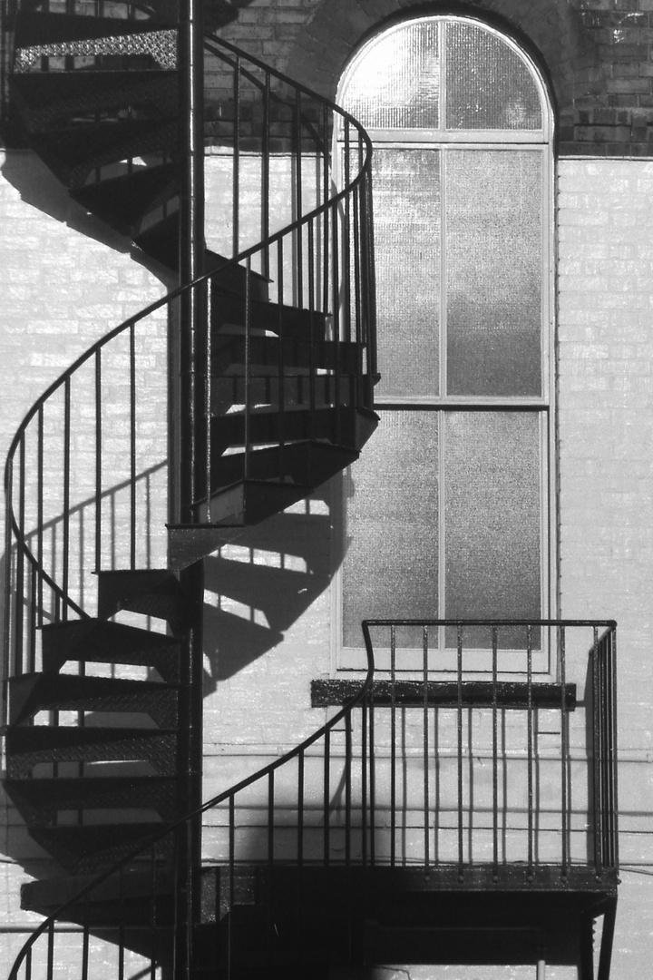 Wendeltreppe - corkscrew stairs