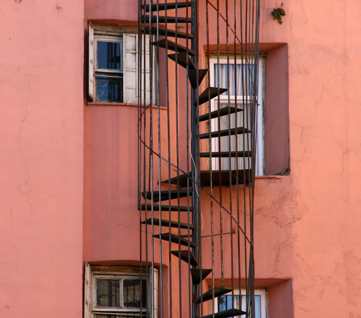 Wendeltreppe in istanbul