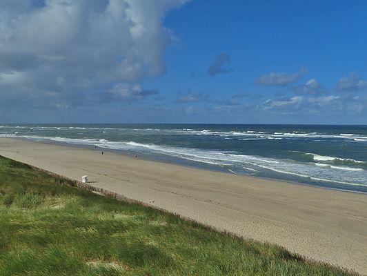 wenig los am Strand von Sylt
