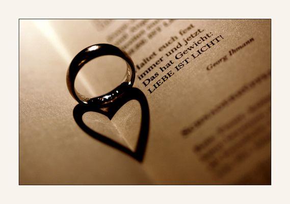 Wenn auch der Schatten zur Liebe wird