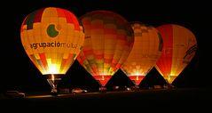 wenn Ballone leuchten