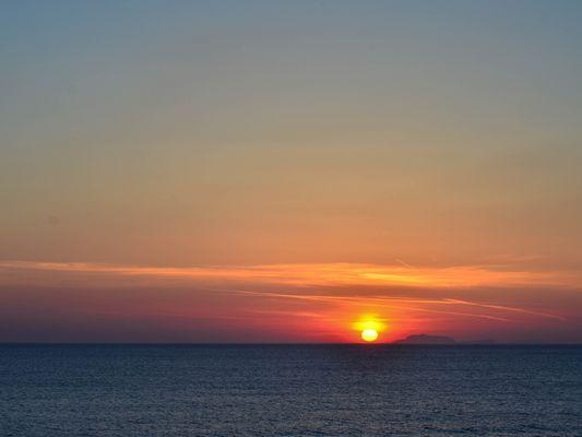 Wenn bei Capri die rote Sonne...