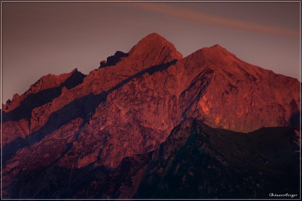 ... wenn Berge aufstehen