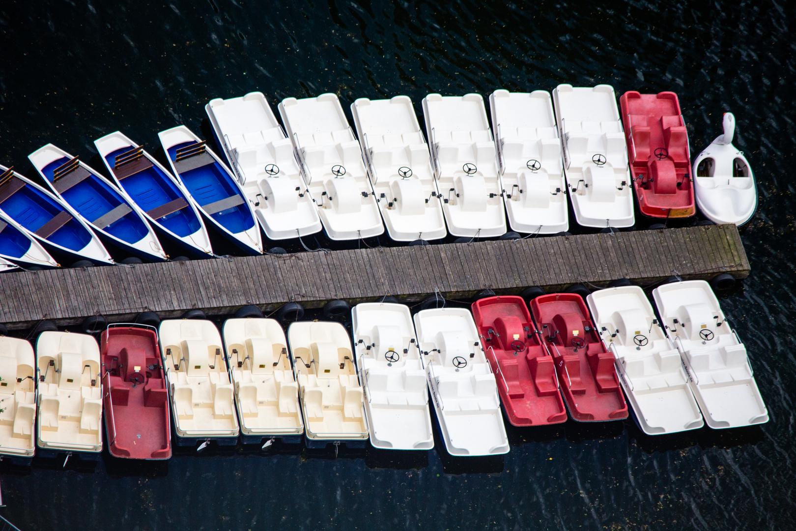 Wenn Boote kuscheln... zum Zweiten
