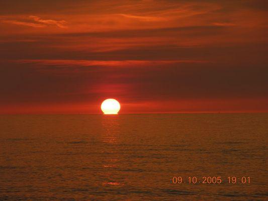 Wenn das Wasser die Sonne verschlingt