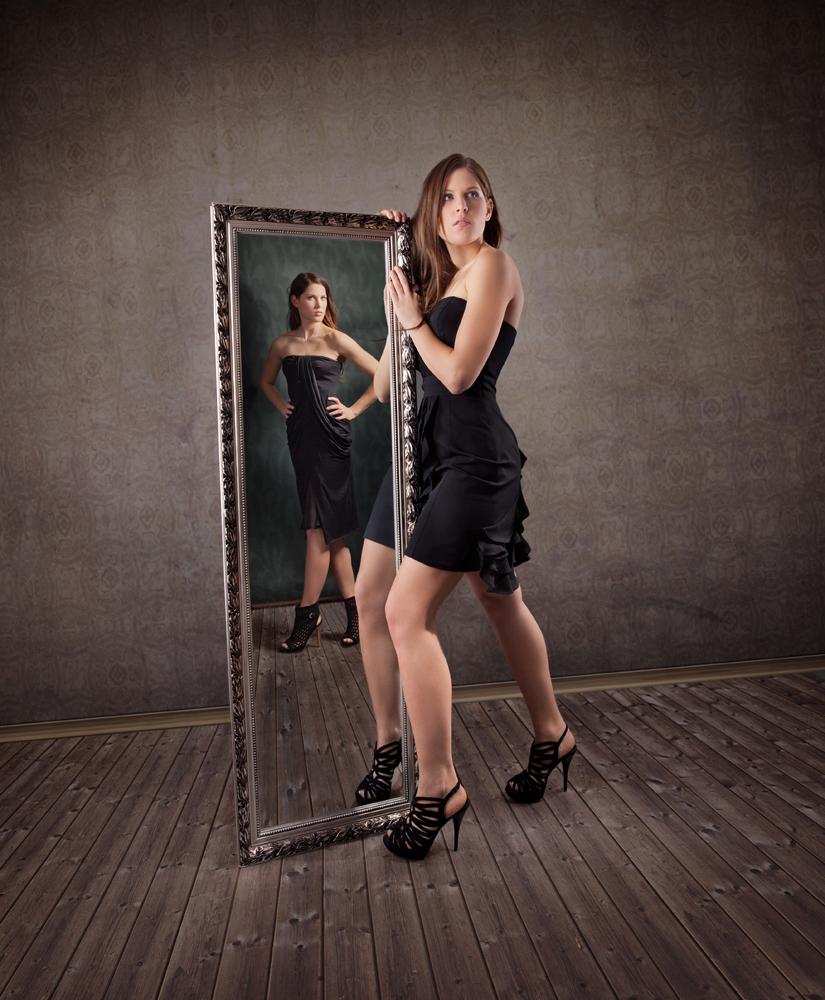wenn deine Schwester dein Spiegelbild ist