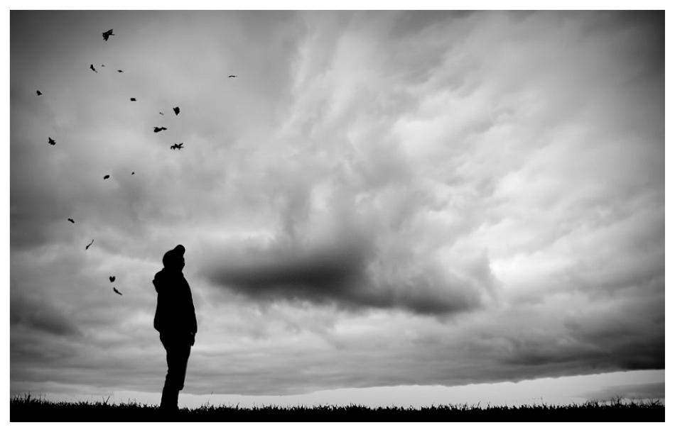 Wenn Der Herbst Mit Wolken Nach Mir Wirft
