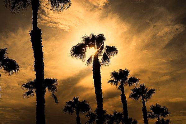 Wenn der Himmel brennt über Gran Canaria