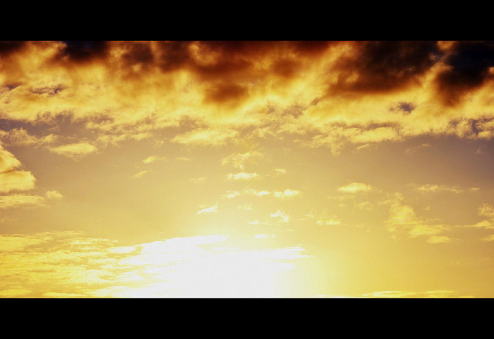 Wenn der Himmel glüht!
