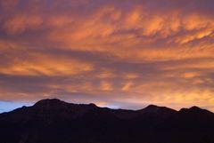 Wenn der Himmel in den Alpen brennt