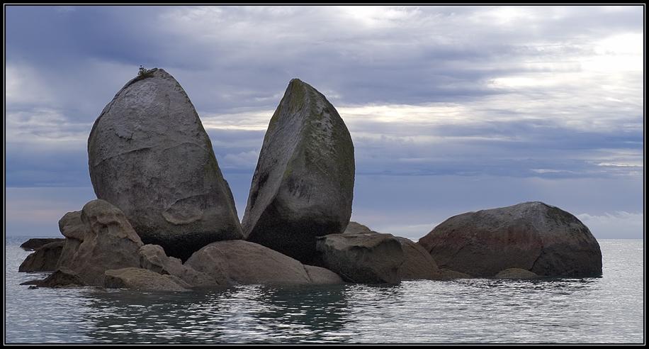 Wenn der Himmel Steine spaltet...