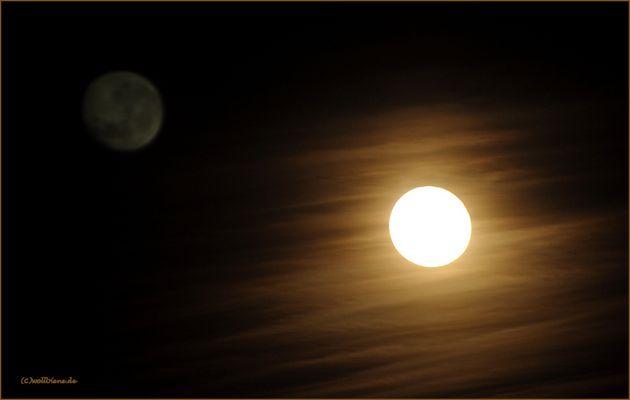 Wenn der Mond die Sonne berührt...