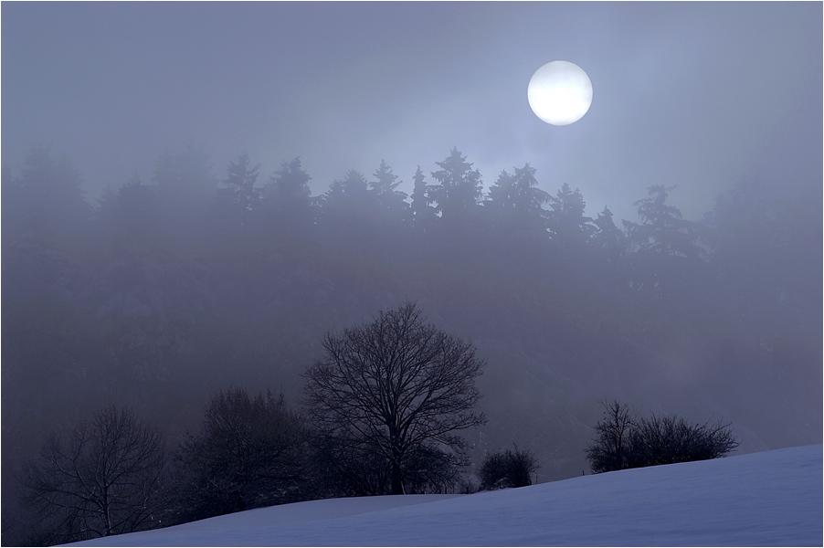 wenn der Nebel sich lichtet...