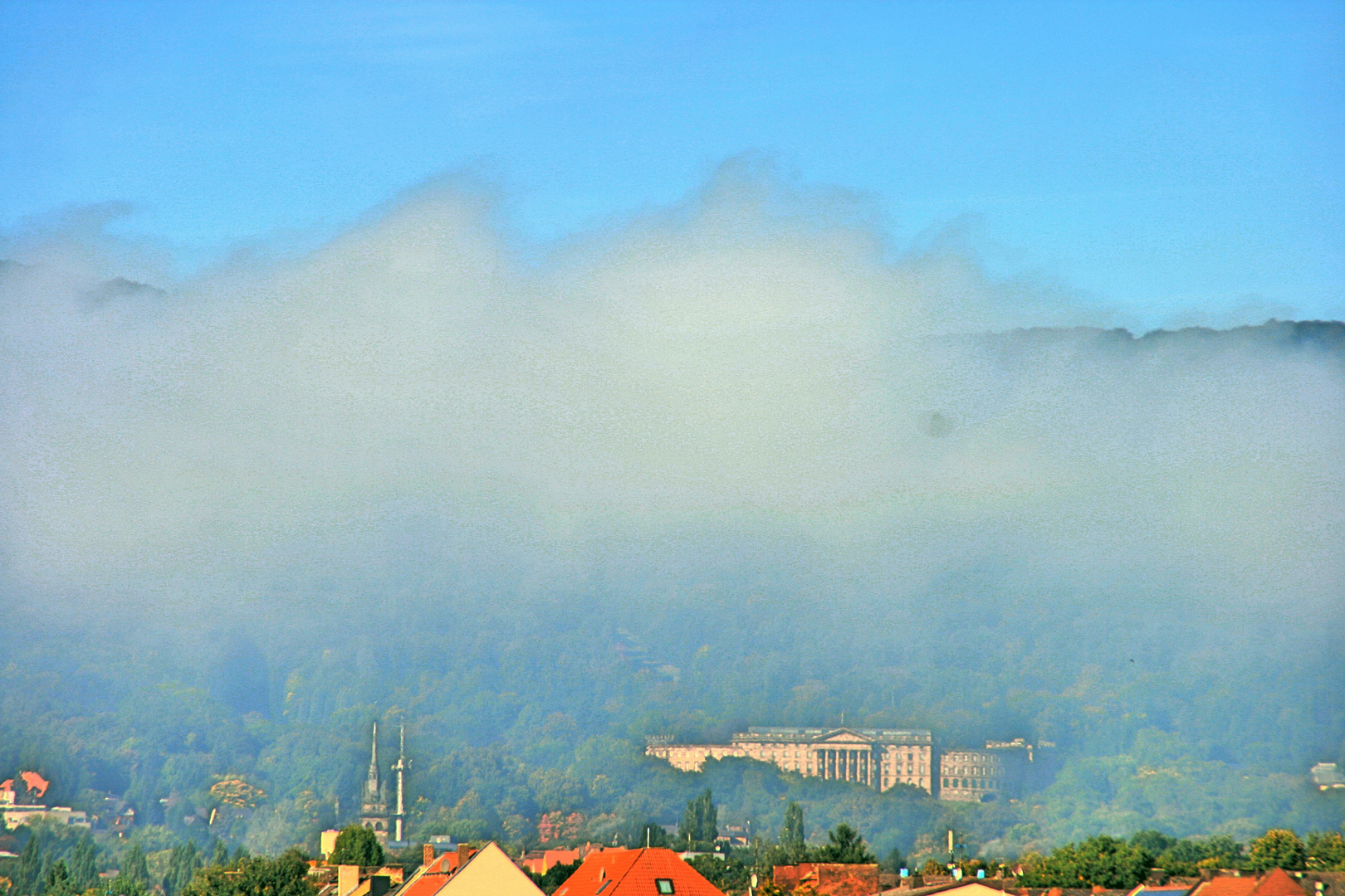wenn der Nebel weicht !
