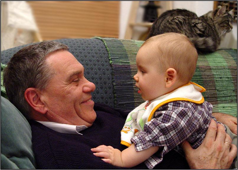 Wenn der Oppa mit dem Enkel...