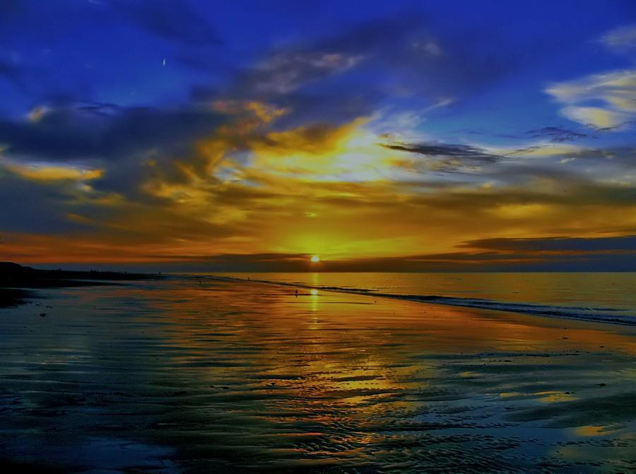 Wenn der Tag zu ende geht....an der Nordsee