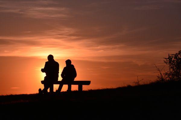 Wenn der Vater mit dem Sohne auf dem Sonnenstein