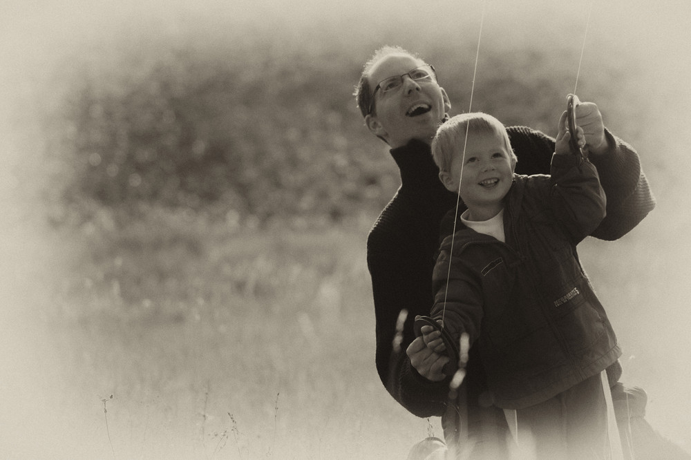 Wenn der Vater mit dem Sohne......