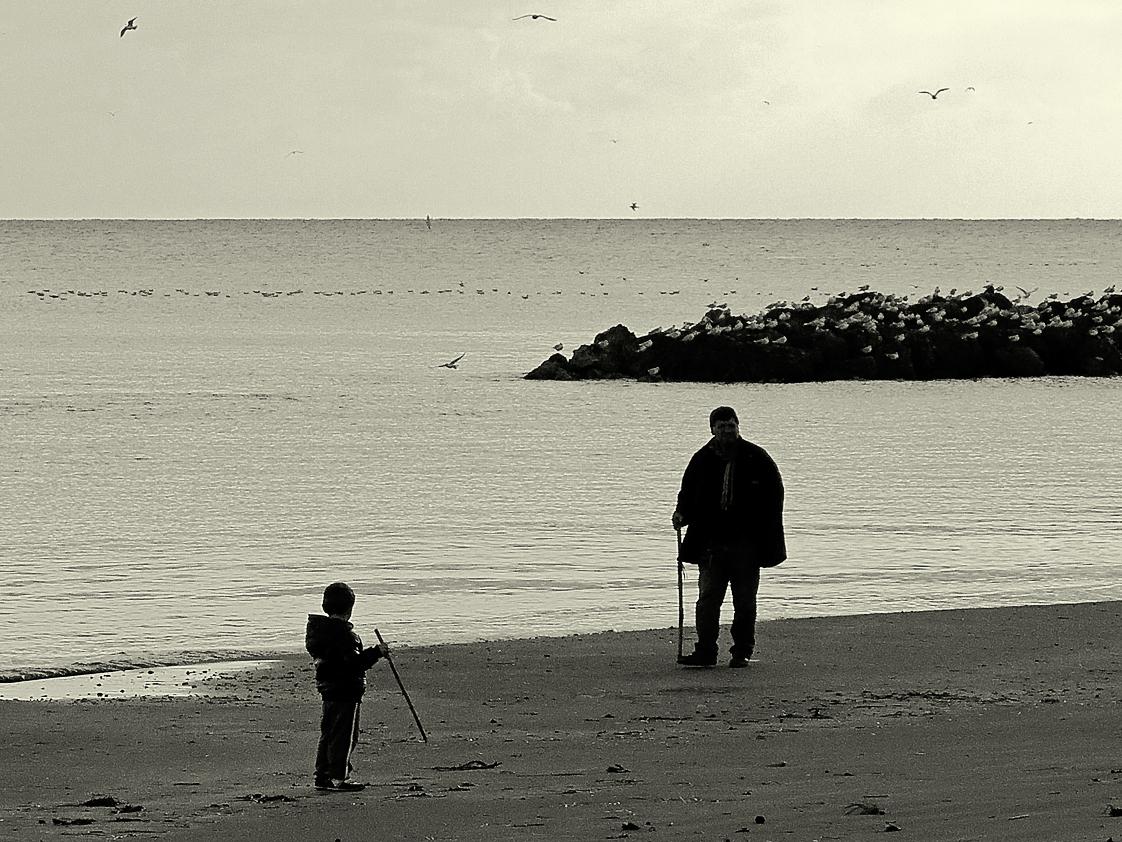 Wenn der Vater mit dem Sohne ... / Papà e figlio (1)