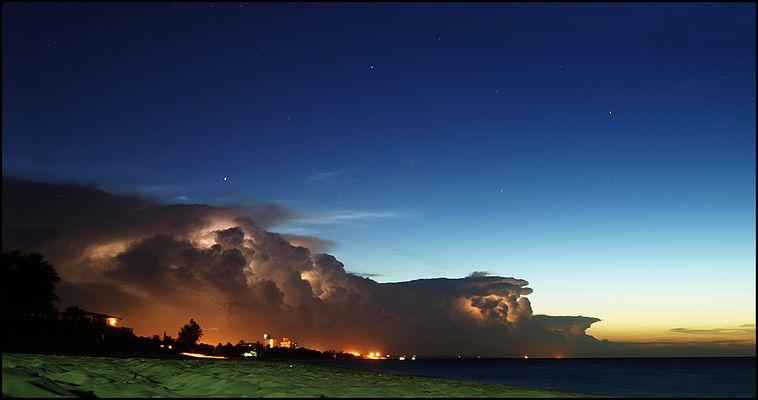 Wenn der Wolkenmann das Licht anknipst