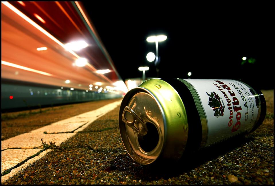 Wenn der Zug kommt....