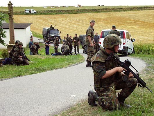 """""""Wenn die Soldaten ins Manöver ziehen..."""" (1)"""