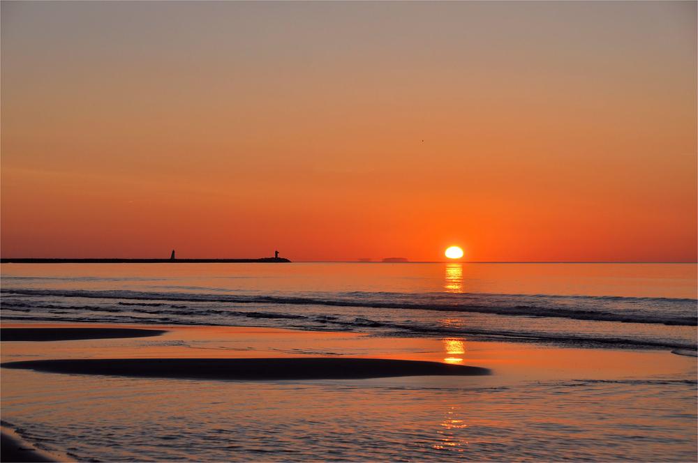 wenn die Sonne aus dem Meer steigt....