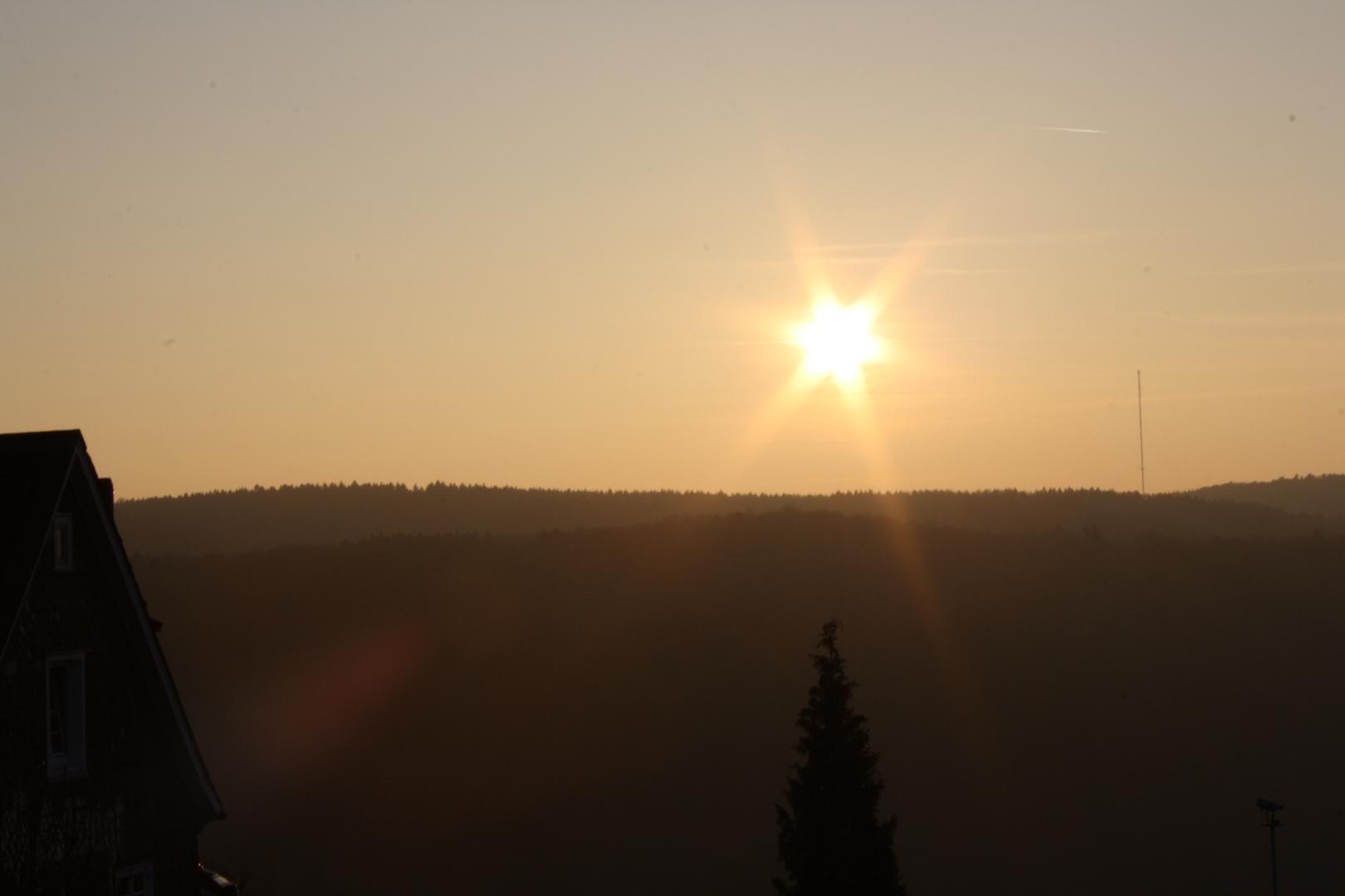 Wenn die Sonne untergeht