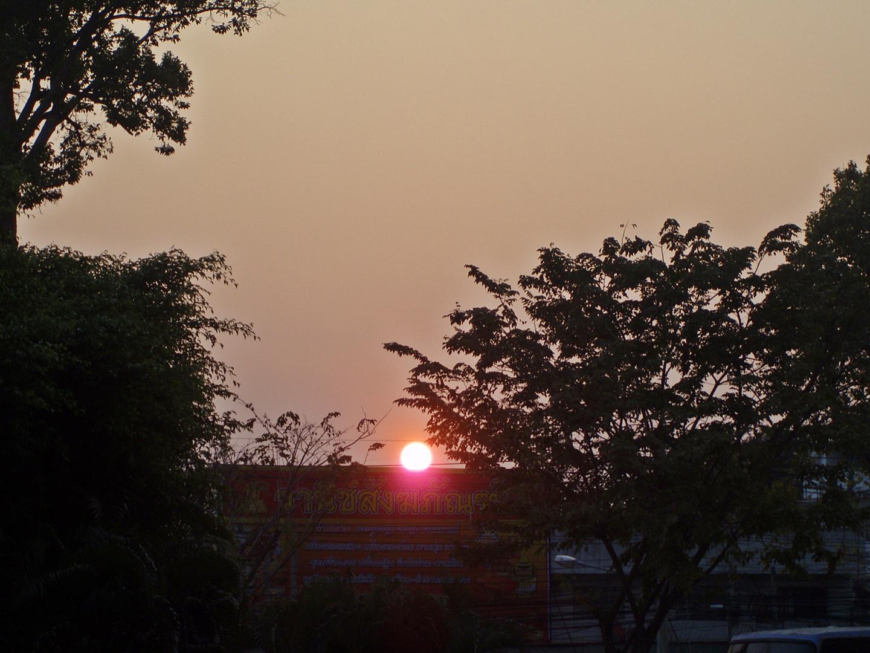 """Wenn die Sonne untergeht im """"Land des Lächelns"""""""