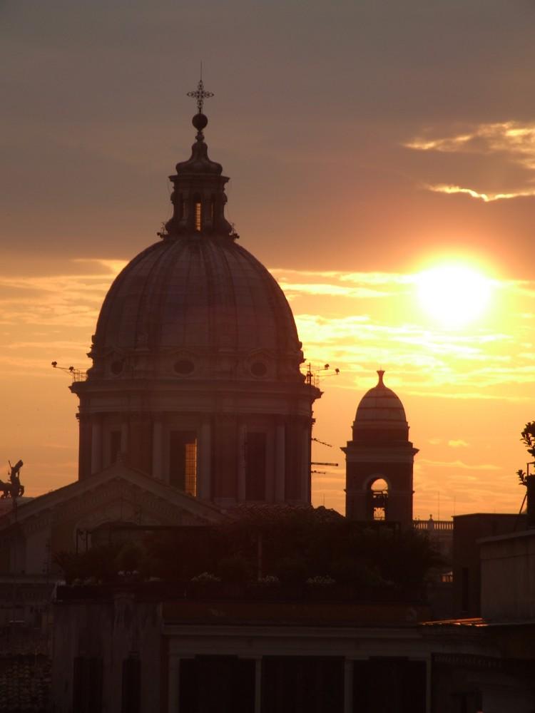 wenn die Sonne untergeht / Rom
